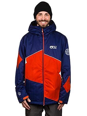 Picture - Veste De Ski/snowboard Styler - Dark Blue/orange Homme - Taille:s