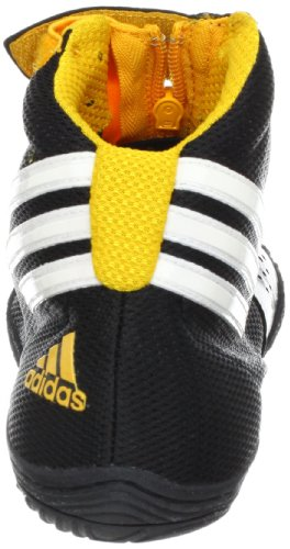 Adidas Wrestling Adizero Sydney Wrestling chaussures, blanc / noir / royal, 6 M Us Black1-Wht-Colgol