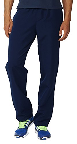 Adidas pantaloni da uomo Essentials Stanford Basic, Uomo, Hose Essentials Stanford Basic, Blau, M