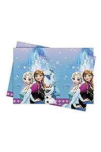 Procos 86884-Mantel plástico Disney Frozen Northern Lights (120x 180cm), multicolor