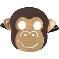 Li_unmio Máscaras Decorativas Lindas de la Moda y del Ambiente de los niños Animales de los niños máscara Decorativa Linda (K)