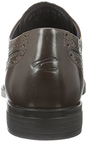 camel active Herren Sharp 12 Derby Braun (mocca 01)