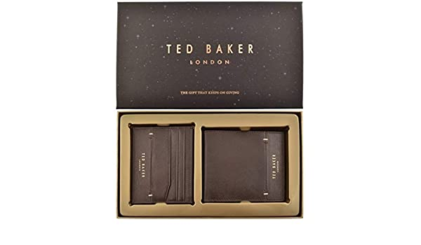 a099f835c Ted Baker Men Bifold Wallet DC8M GG14 TAGLEE Size ONE Size Brown  Amazon.co.uk   Luggage