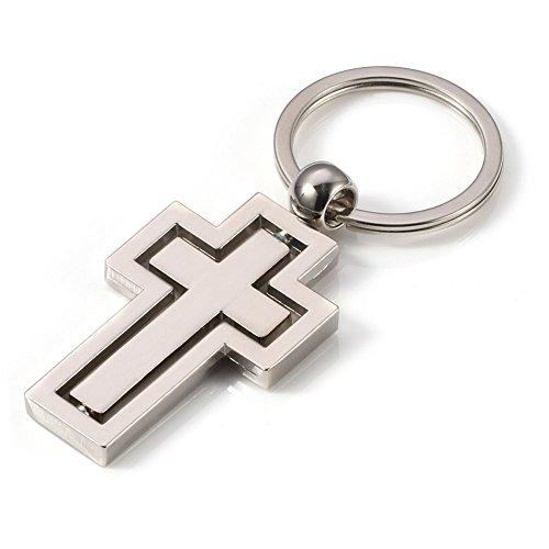 Keychain Drehbare Anhänger Schlüsselanhänger Männer Frauen Geschenk Schlüsselanhänger Tasche Brieftasche Anhänger Ornament ()