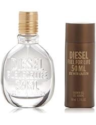 Diesel Fuel For Life Kit Cadeau pour Homme Eau de Cologne...