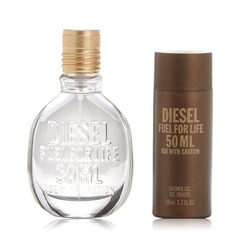 DIESEL Fuel for Life für Herren Geschenkset - Eau de Kologne plus Duschegel, 1er Pack (1 x 797 Stück)