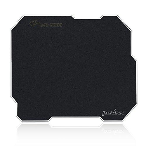 Perixx dx-5000l, Dual Sided Gaming Mauspad–320x 270x 3mm–Doppelseitiger–Aluminium Kern–verstellbar Grip Gel (Aluminium-gelee)