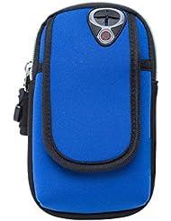 PB-SOAR Unisex Neopren Armband Tasche Oberarmtasche Armtasche für Handy Schlüssel Kredikarten und Zubehör, ideales Auswahl für Fitness Joggen Wandern Radfahren Laufen Reisen usw