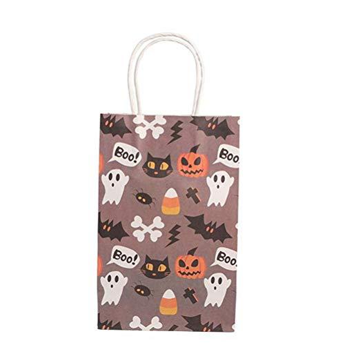 �ten aus Papier, Motiv: Geister, für Süßigkeiten, Kekse, Halloween, 10 Stück ()