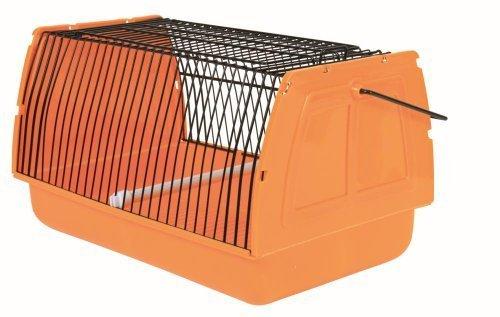 Trixie 5902 Transportbox kleine Vögel/Kleintiere, 30 × 18 × 20 cm, farblich Sortiert