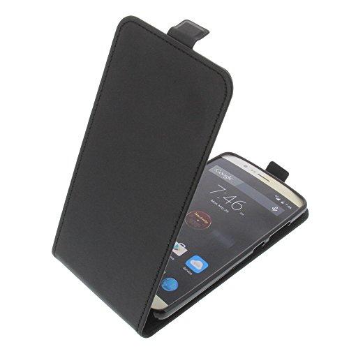 foto-kontor Tasche für Elephone P8000 Smartphone Flipstyle Schutz Hülle schwarz
