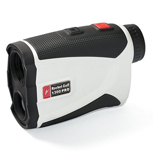 """Golflaser - Golf Laser Entfernungsmesser \""""Birdie 1300 Pro\"""" white - RocketGolf"""