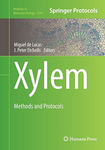 Xylem: Methods and Protocols (Methods in Molecular Biology, Band 1544)