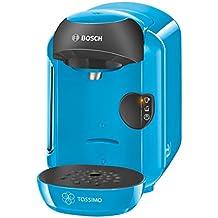 Bosch TASSIMO Vivy TAS1255 – Cafetera multibebidas automática de cápsulas, diseño compacto, color azul