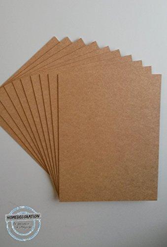 ( 5 Stck. ) Zuschnitt MDF Platten 25x68 cm 68x25 cm ( Mengenrabatt: Stückpreis hier nur 1,27 € )