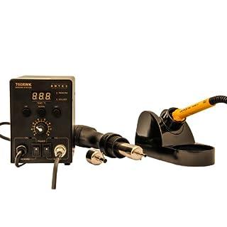 Antex U9825F0 Digital Rework Soldering Station, 760RWK, Black/Yellow
