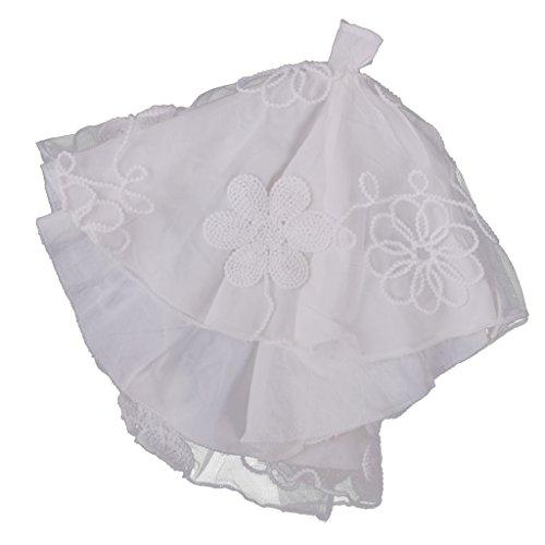 ppen Hochzeitskleid Kleid Kleidung für Barbie Puppe Dress up - Weiß (Princess Dress Up Kleidung)