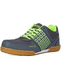 Feroc Non Marking Badminton Gray Shoes ( FREE Delivery)