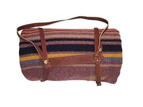 Pendleton Blankets - Twin Camp Blanket with Carrier - Lake