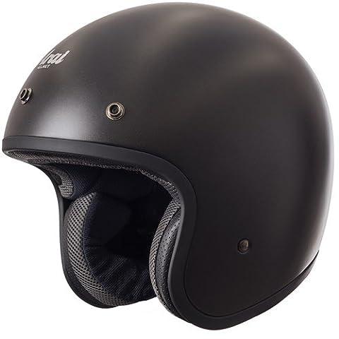 Motorrad Arai Freeway Classic Helm–Frost Schwarz UK