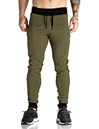 THE ARCHER Men's Green Jogger