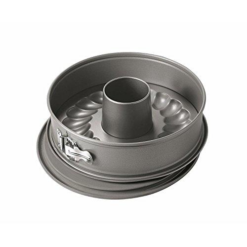 KAISER Springform mit Rohrboden Ø 28 cm La Forme sehr gute Antihaftbeschichtung Auslaufschutz ergonomischer Edelstahlverschluss