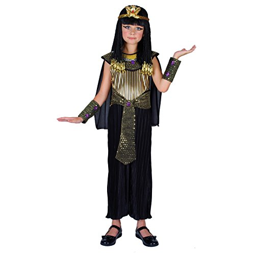 QUEEN CLEOPATRA EGYPTIAN PRINCESS GIRLS COSTUME FANCY DRESS UP PARTY (Cleopatra Up Dress Kostüm)