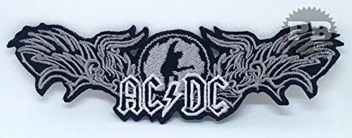 # 1315ACDC Hard Rock Musik Band Eisen auf Sew auf bestickt Patch