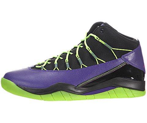 Jordan Prime Flight Herren Lila Leder Basketball Schuhe Größe Neu EU 44,5 (Schuhe Jordan Schöne)
