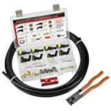 S.U.R & R SRRKP1212 0.5 in. & 12 mm. Kit de reemplazo de l¨ªnea de combustible