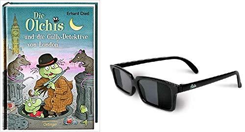 Detektiv Werden mit den Olchis 1. Die Olchis und die Gully - Detektive von London & 2. Die Olchis Detektiv Brille