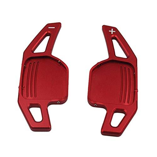 Auto lenkrad schaltpaddel rote farbe shifter fit für audi a3 a4 a4l a5 a6 a7 a8 q3 q5 q7 tt s3 r8