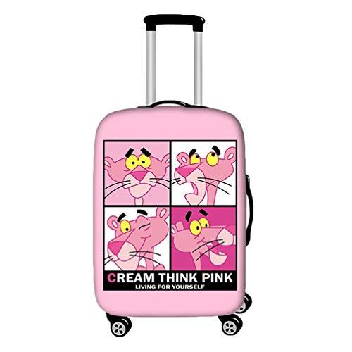 YiiJee elastische Kofferschutzhülle Kofferschutzbezug Gepäckschutz Kofferbezug Kofferhülle Luggage Cover Koffer Hülle Schutzbezug Als Bild1 L