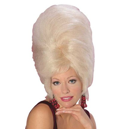 Beehive Wig-Blonde