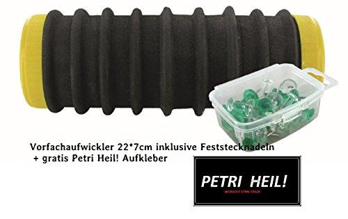 Vorfachaufwickler, Schaumstoffaufwickler ,für Systeme, Vorfachhaken, Hegenen usw.+ gratis Petri Heil! Aufkleber