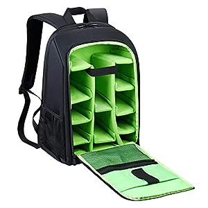 """Estarer Kamerarucksack Kameratasche Fotorucksack SLR/DSLR/Spiegelreflex Wasserabweisend 15,6"""" Rucksack mit Schultergurt…"""