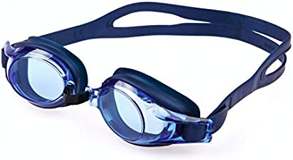 Sea Lion | Swim Goggles | Blue & Black | Ages 12-Adult | Unisex | Japan Made