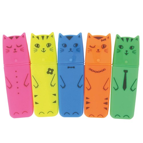 paperchase-cat-highlighters