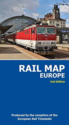 Rail Map of Europe 1 : 4.000.000