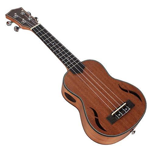 fervory 21 Pollici Ukulele Concerto 4 Corde Mogano Ukulele Hawaiano Piccola Chitarra Playing Instrument