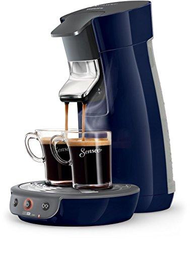 Senseo Viva Café HD7821/70 - Cafetera (Independiente, Máquina de café en cápsulas, 0,9 L, Dosis de café, 1450 W, Azul)