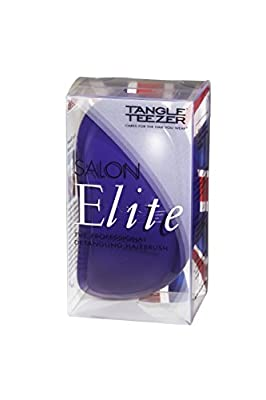 Tangle Teezer Brush Salon Elite Professional Detangling Hairbrush Purple