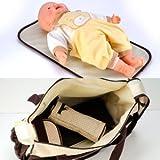 *Versand aus Deutschland*5tlg Wickeltasche Babytasche Pflegetasche Tasche Braun Baby Geschenkidee NEU - 3