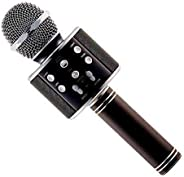 BRIX Bluetooth Karaoke Microphone 3-in-1 Portable Handheld Karaoke Mic Speaker Machine Christmas Birthday Home Party for Andr