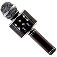 BRIX Bluetooth Karaoke Microphone 3-in-1 Portable Handheld Karaoke Mic Speaker for Android/iPhone/PC or All Smartphone…