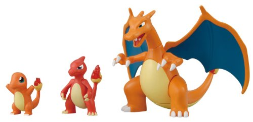 Pokemon Plastic Model Collection 29 Charizard Evolution Set (Pokemon) (japan import)