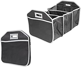 GosFrid Baby Cloth Storage box and Also use in New Car Boot Organizer For Picnic Party Shopping Heavy Duty Collapsible Foldable