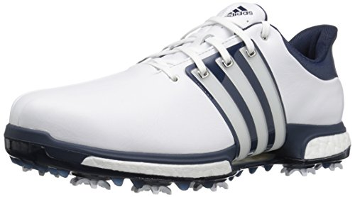 adidas Men's Tour 360 Boost Golf Shoe, WHITE, 13 M US