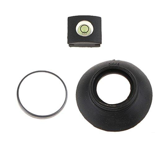 MagiDeal Augenmuschel Okular Sucher Auge Cup mit Wasserwaage Ersatz für Nikon D850/D500