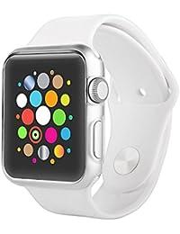Apple Watch Funda, ChannelExpert Funda Carcasa Protectora Para Apple Watch Reloj 42mm clip cristal caja, claro